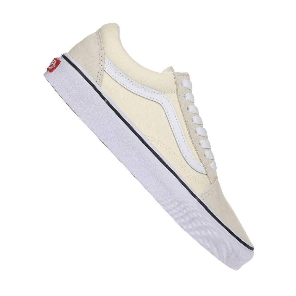 ヴァンズ Vans レディース スニーカー シューズ・靴【Old Skool(TM)】Classic White/True White