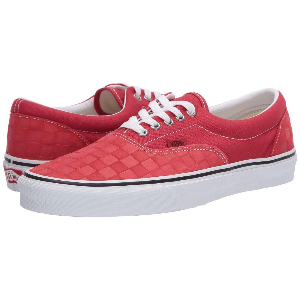 ヴァンズ Vans レディース スニーカー シューズ・靴【Era(TM)】Pompeian Red/True White
