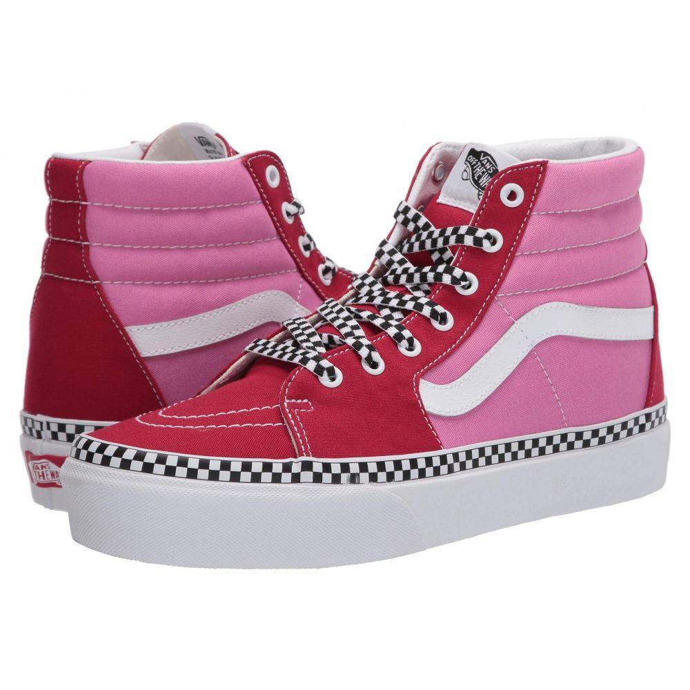 ヴァンズ Vans レディース スニーカー シューズ・靴【SK8-Hi Platform 2.0】Chili Pepper/Fuchsia Pink