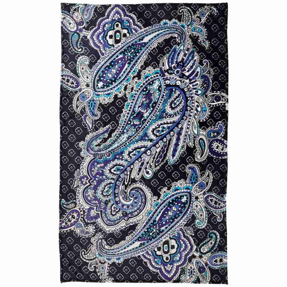 ヴェラ ブラッドリー Vera Bradley レディース 雑貨 ブランケット【Plush Throw Blanket】Deep Night Paisley