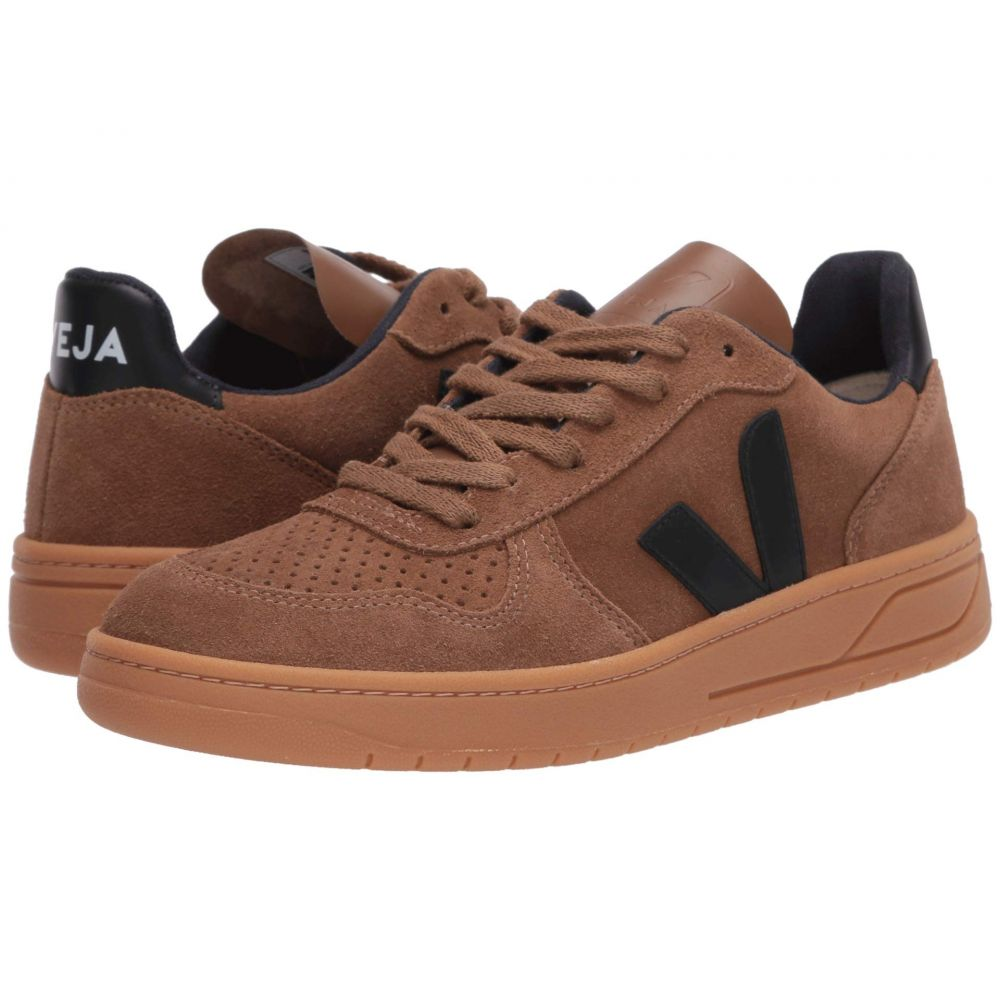 ヴェジャ VEJA メンズ スニーカー シューズ・靴【V-10】Brown/Black Suede/Gum