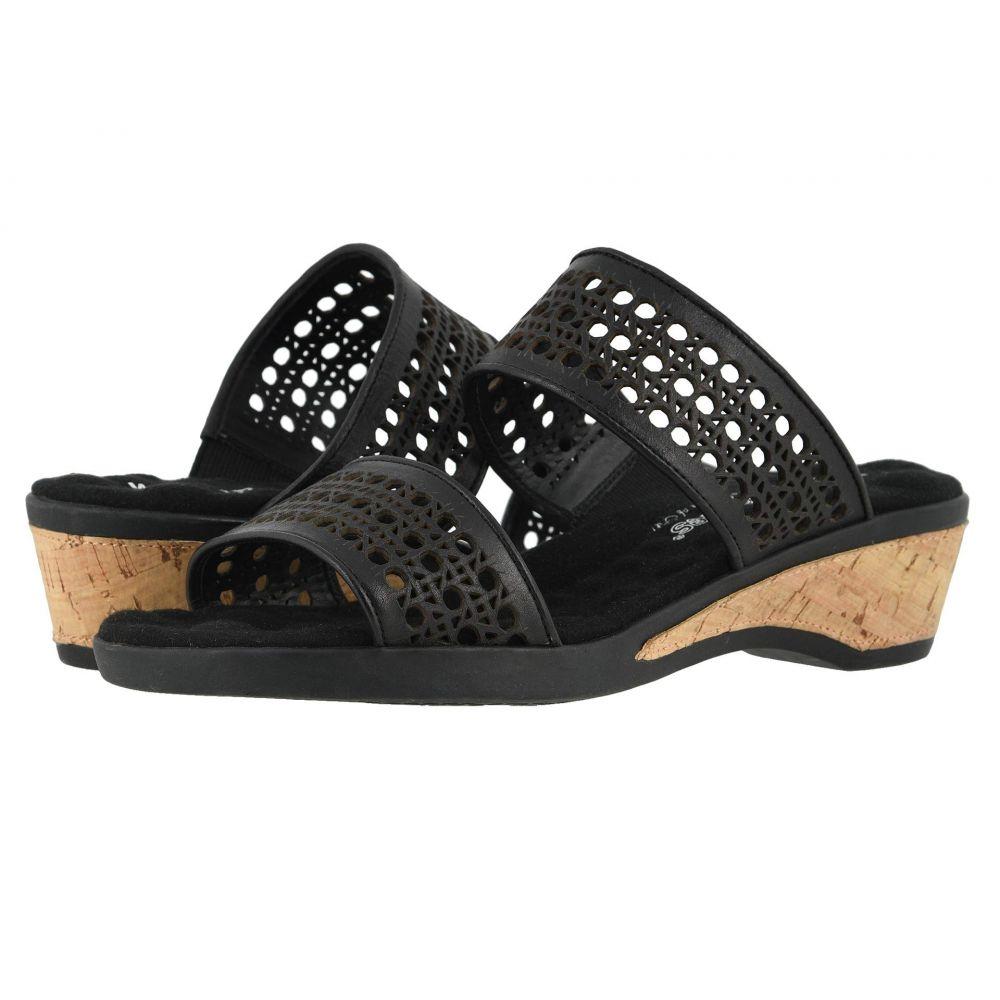 ウォーキング クレードル Walking Cradles レディース サンダル・ミュール シューズ・靴【Kiwi】Black Moroccan Leather