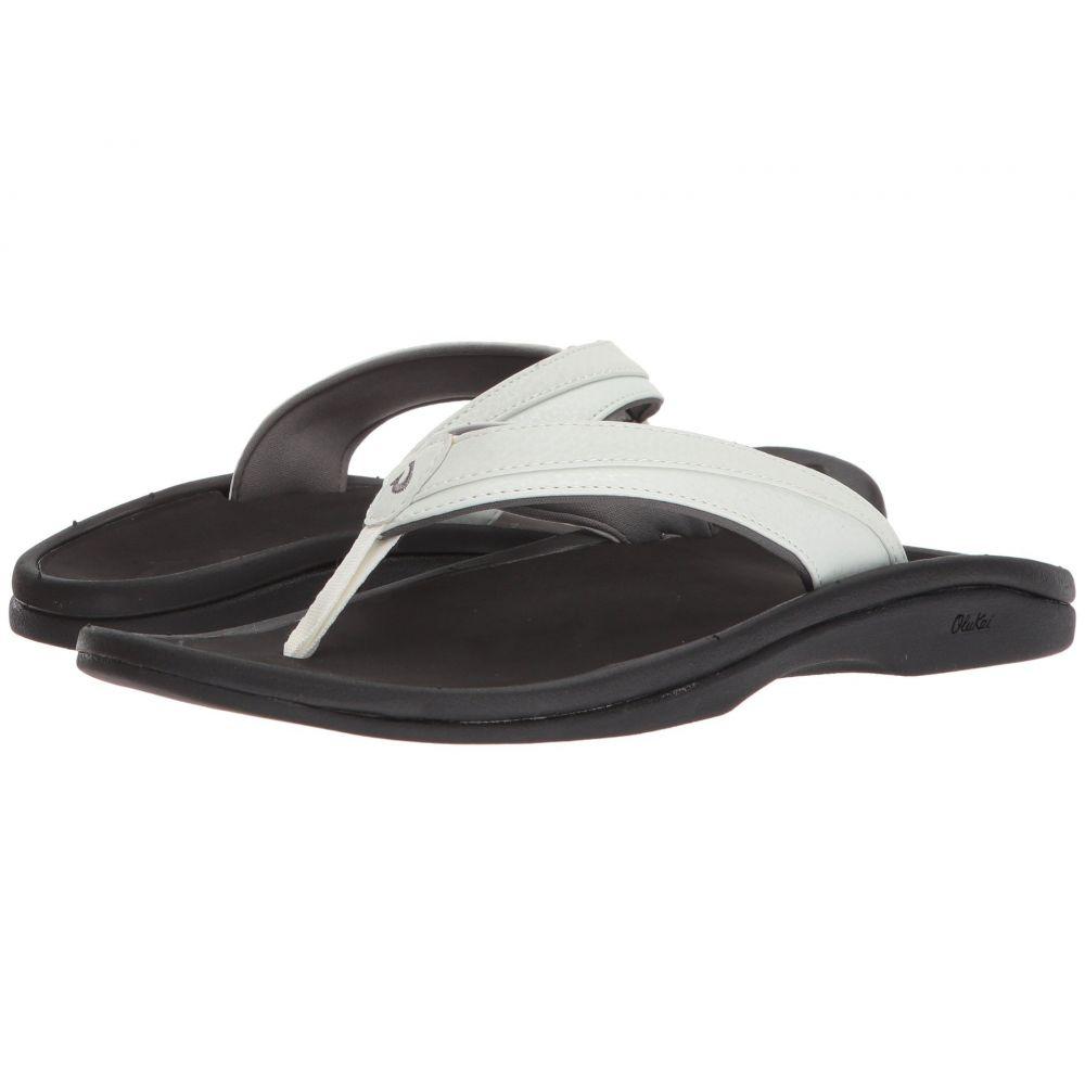 オルカイ OluKai レディース ビーチサンダル シューズ・靴【Ohana W】White/Black