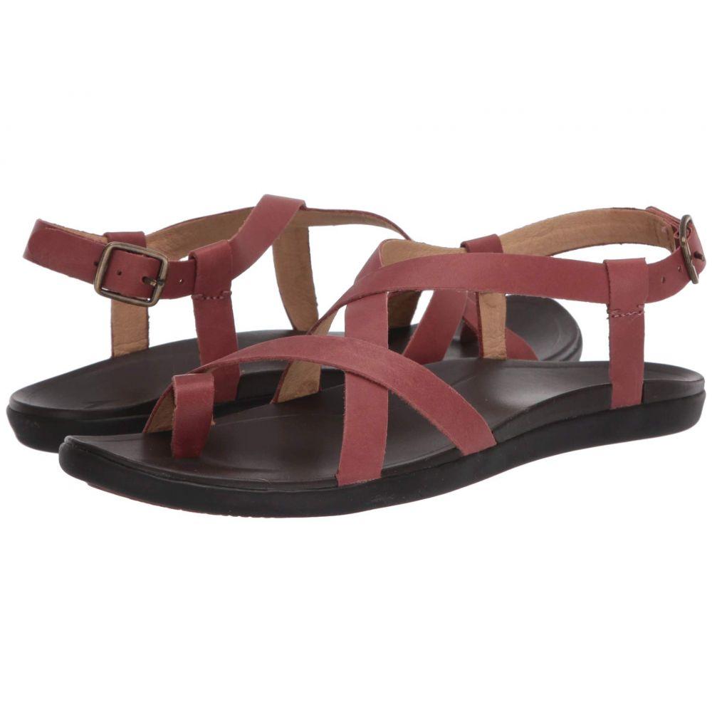 オルカイ OluKai レディース ビーチサンダル シューズ・靴【Upena】Cedar Wood/Dark Java