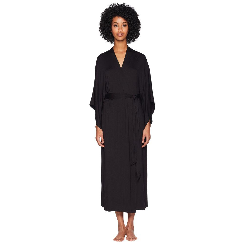 エバージェイ Eberjey レディース ガウン・バスローブ インナー・下着【Colette - Long Kimono Robe】Black