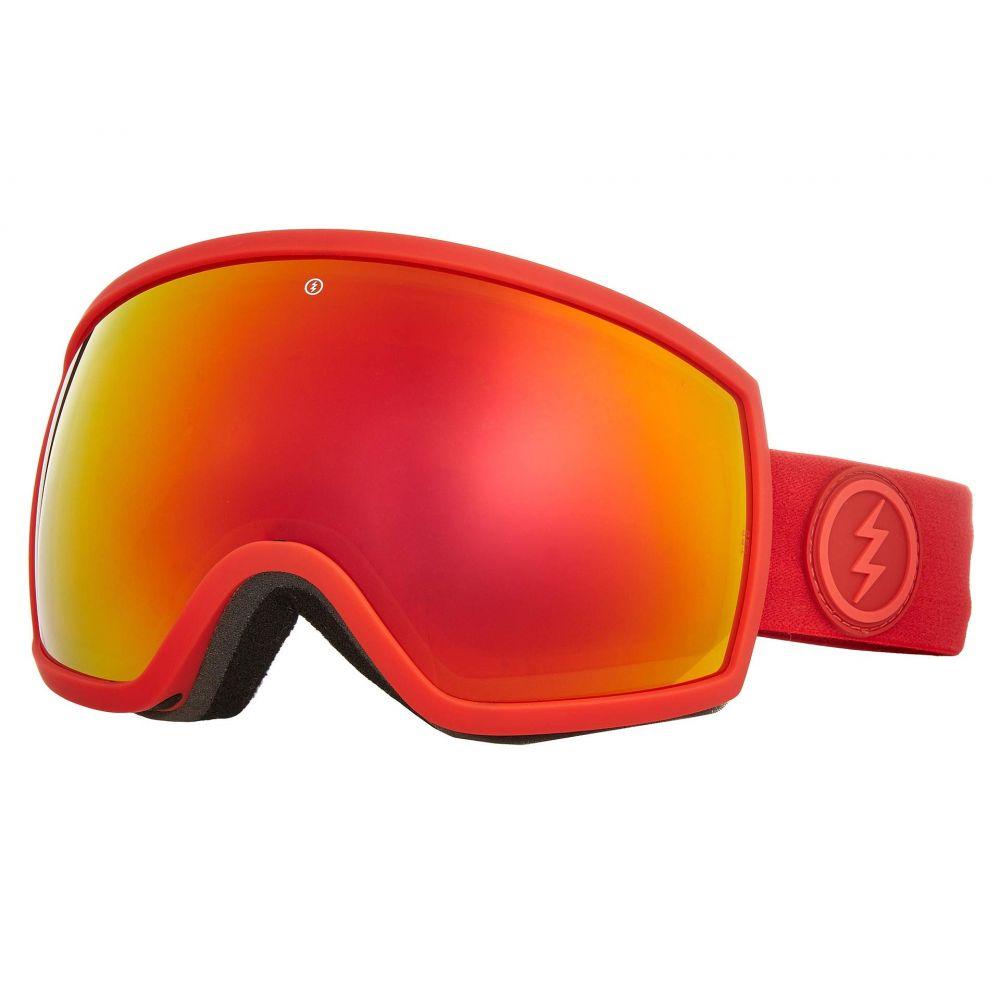 エレクトリック Electric Eyewear レディース ゴーグル【EGG】Heat/Brose/Red Chrome