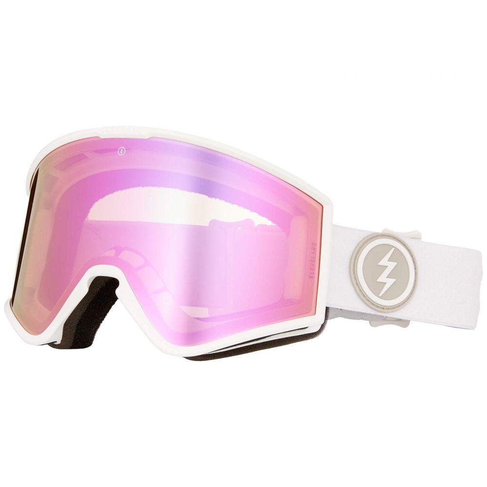 エレクトリック Electric Eyewear レディース ゴーグル【Kleveland】Matte White/Brose/Pink Chrome