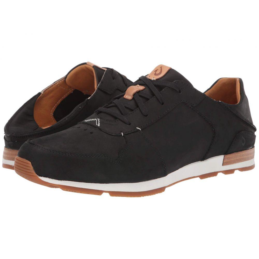 オルカイ OluKai メンズ スニーカー シューズ・靴【Huaka'i Li】Black/Black