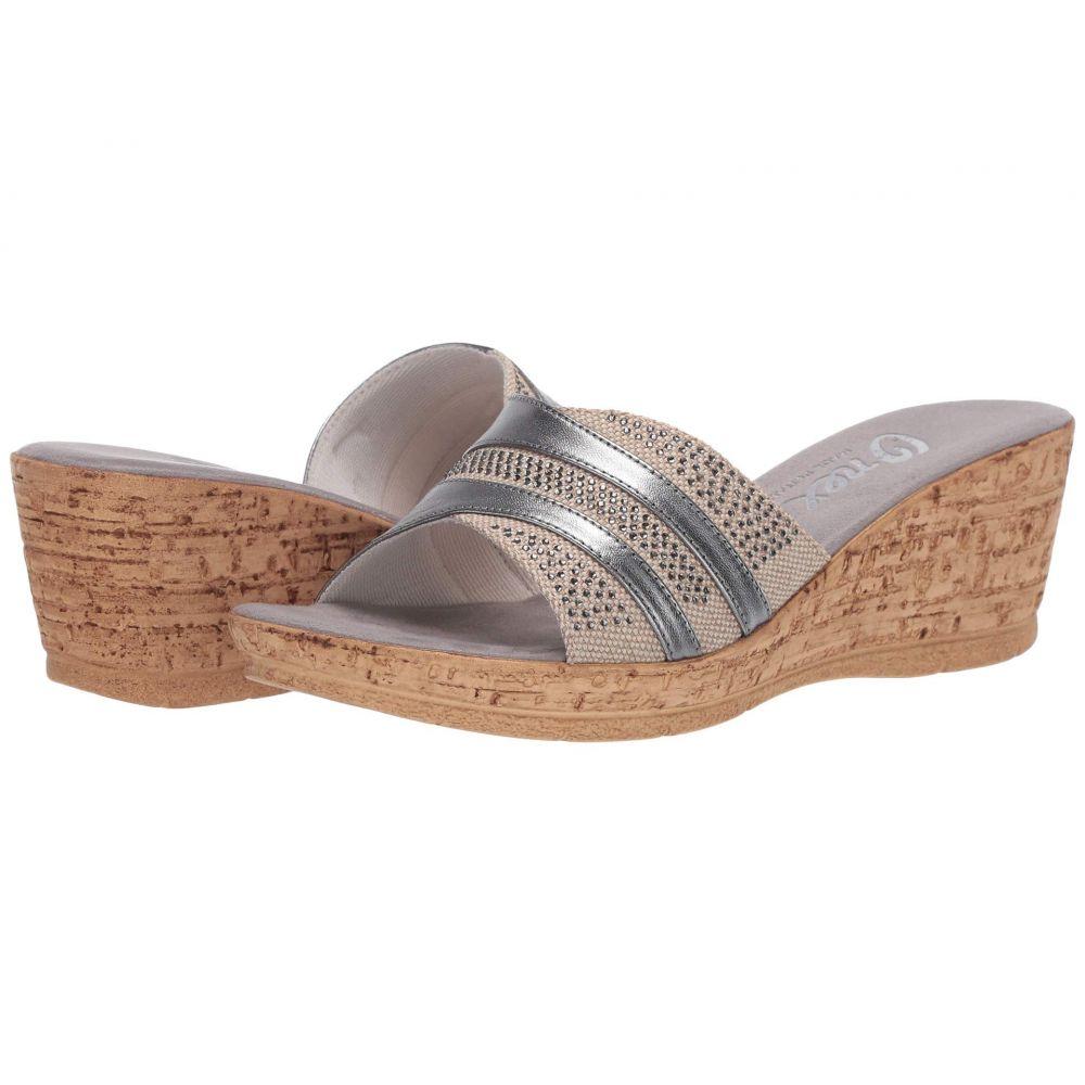 オネックス Onex レディース サンダル・ミュール シューズ・靴【Blanche】Pewter
