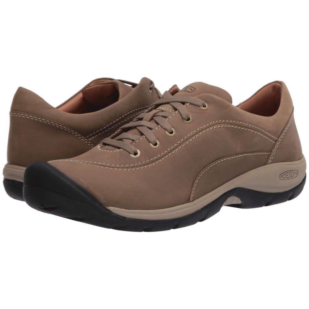 キーン Keen レディース スニーカー シューズ・靴【Presidio II】Timberwolf/Plaza Taupe