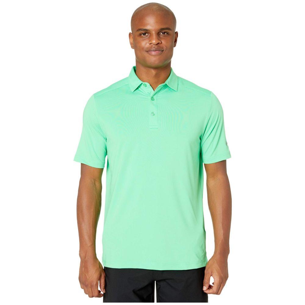 キャロウェイ Callaway メンズ ポロシャツ トップス【Opti-Dri(TM) Micro-Hex Solid Polo】Irish Green