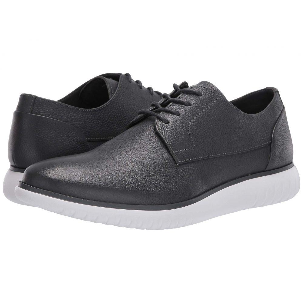 カルバンクライン Calvin Klein メンズ 革靴・ビジネスシューズ シューズ・靴【Teodor】Grey Soft Tumbled Leather