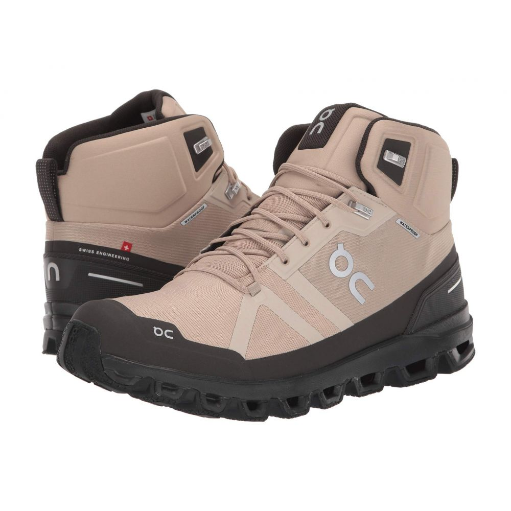 オン On メンズ ハイキング・登山 シューズ・靴【Cloudrock Waterproof】Sand/Black