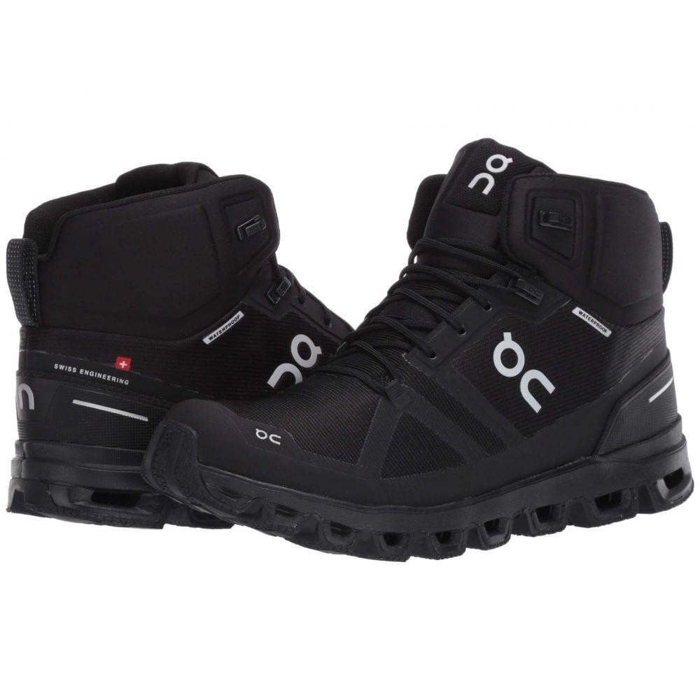 オン On レディース ハイキング・登山 シューズ・靴【Cloudrock Waterproof】All Black
