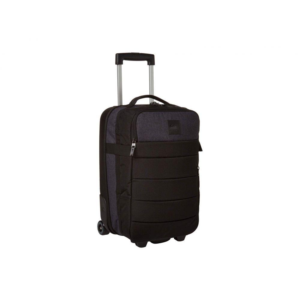 クイックシルバー Quiksilver メンズ スーツケース・キャリーバッグ バッグ【New Horizon Wheeled Cabin Suitcase】Stranger Black