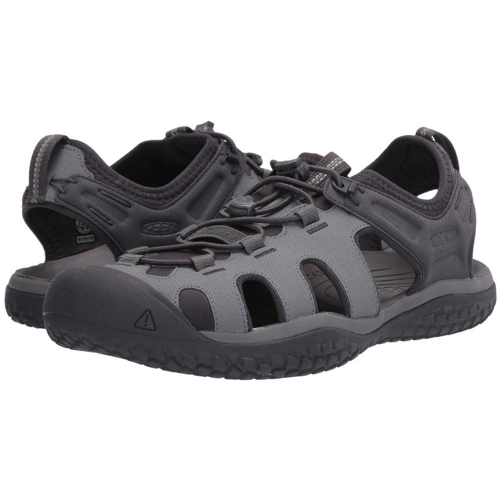 キーン Keen メンズ サンダル シューズ・靴【Solr Sandal】Steel Grey/Magnet