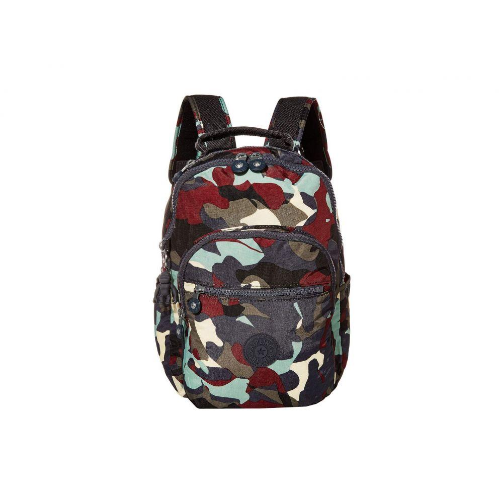 キプリング Kipling レディース バックパック・リュック バッグ【Seoul S Backpack】Camo