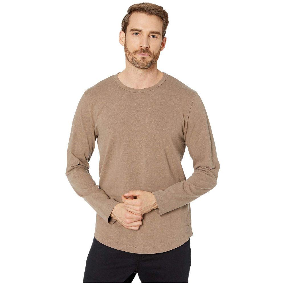 オルタナティヴ メンズ トップス 長袖Tシャツ Oak サイズ交換無料 Hemp-Blend Sleeve 直送商品 訳あり品送料無料 Tee Alternative Long