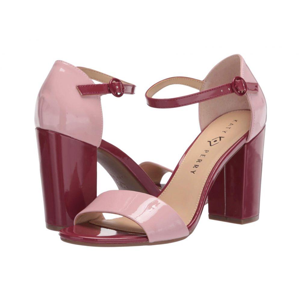 ケイティ ペリー Katy Perry レディース サンダル・ミュール シューズ・靴【The Liz】Rose/Mulberry Smooth Patent