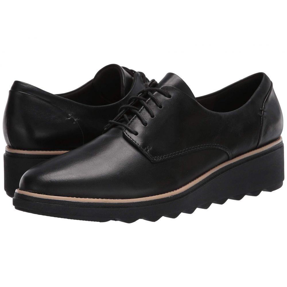 クラークス Clarks レディース ローファー・オックスフォード シューズ・靴【Sharon Noel】Black Leather