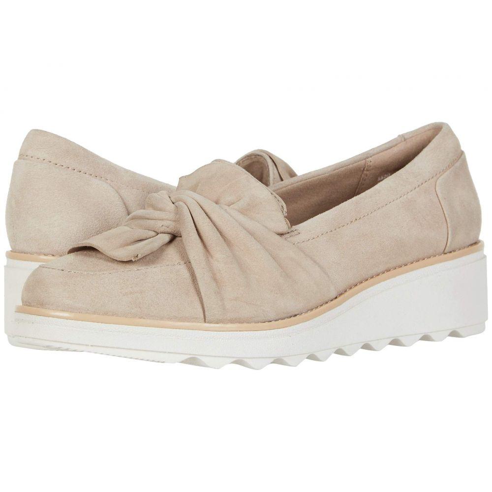 クラークス Clarks レディース ローファー・オックスフォード シューズ・靴【Sharon Dasher】Sand Suede