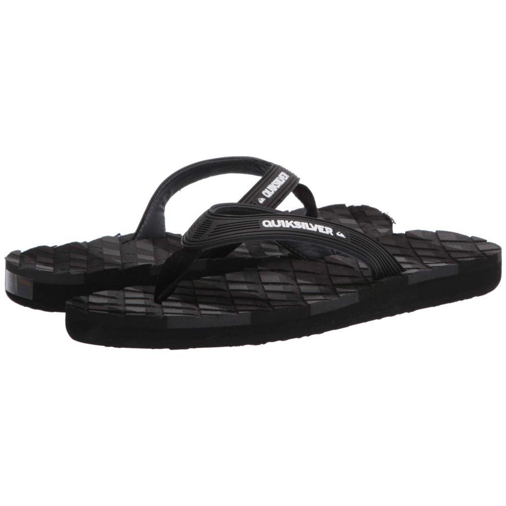 クイックシルバー Quiksilver メンズ サンダル シューズ・靴【Massage 2】Black/Black/Grey