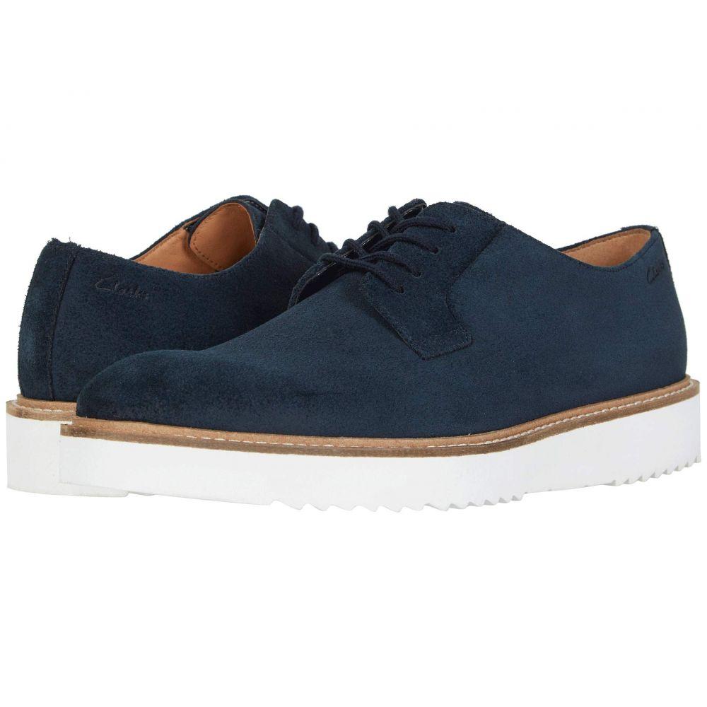 クラークス Clarks メンズ 革靴・ビジネスシューズ シューズ・靴【Ernest Walk】Navy Suede