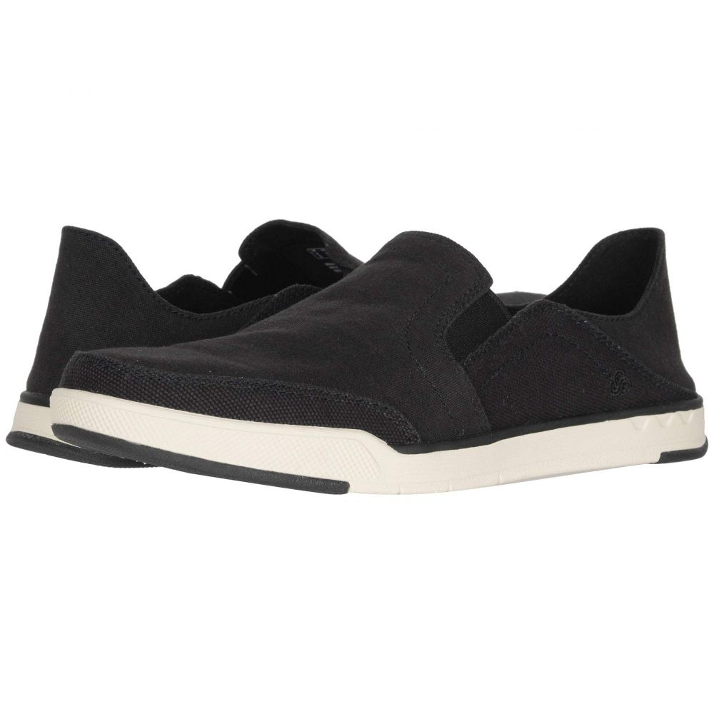 クラークス Clarks メンズ ローファー シューズ・靴【Step Isle Row】Black Canvas