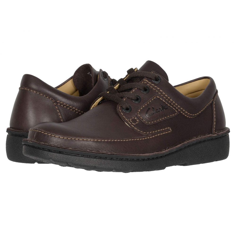 クラークス Clarks メンズ スニーカー シューズ・靴【Nature II】Brown Leather
