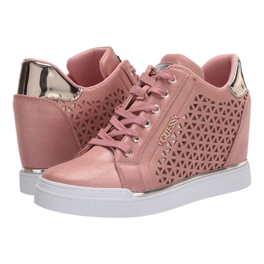 ゲス GUESS レディース スニーカー シューズ・靴【Flowurs】Pink