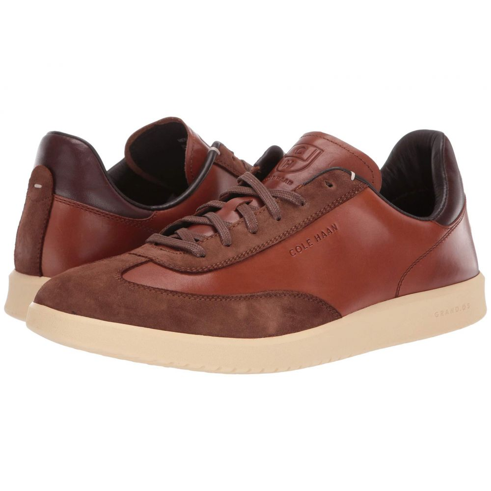 コールハーン Cole Haan メンズ スニーカー シューズ・靴【Grandpro Turf Sneaker】British Tan Tumbled/British Tan Suede