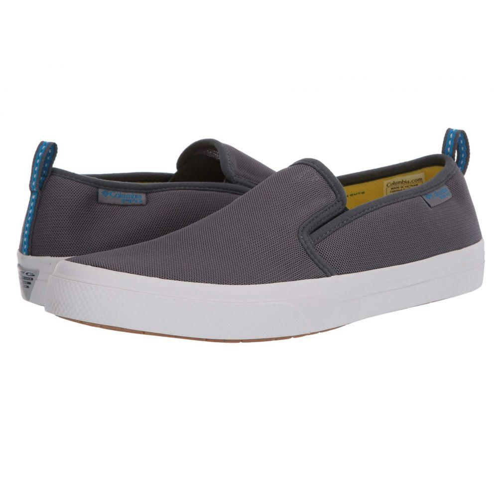 コロンビア Columbia メンズ スリッポン・フラット シューズ・靴【PFG Dorado(TM) Slip II】Ti Grey Steel/Pool