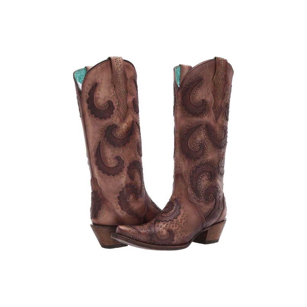 コラル Corral Boots レディース ブーツ シューズ・靴【C3441】Tobacco