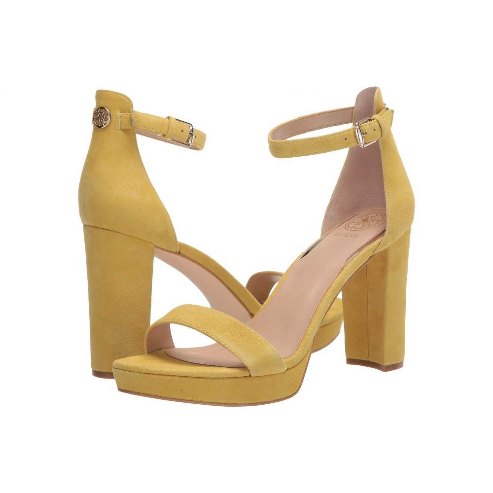 ゲス GUESS レディース サンダル・ミュール シューズ・靴【Omere】Yellow