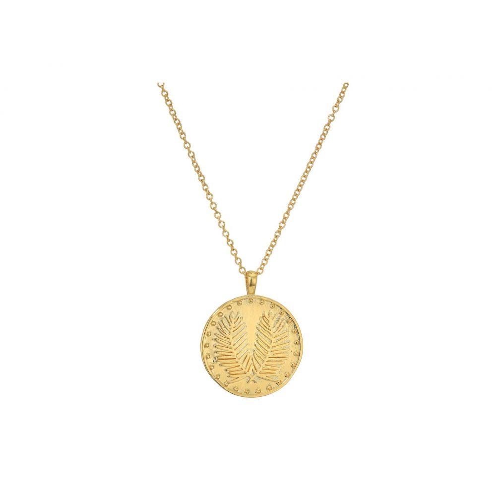 ゴリアナ gorjana レディース ネックレス ジュエリー・アクセサリー【Palm Coin Necklace】