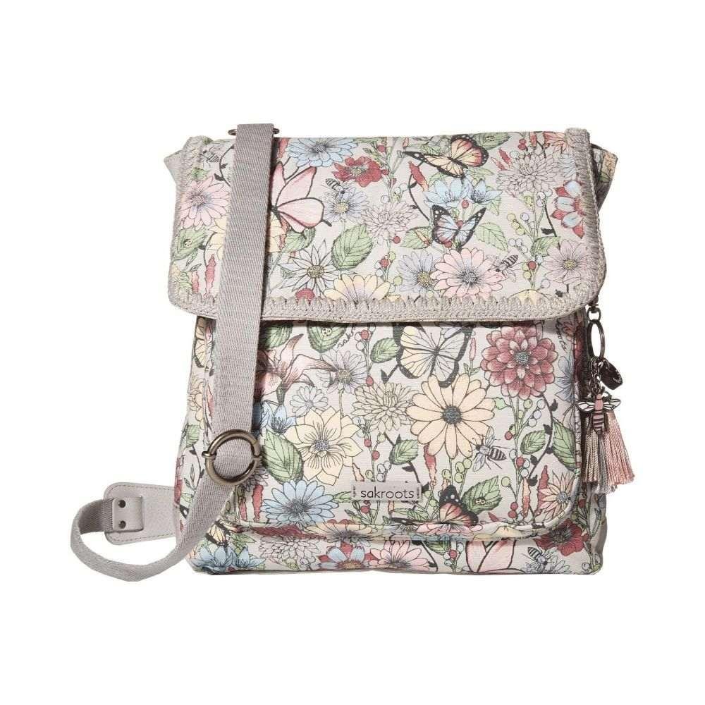サックルーツ Sakroots レディース バックパック・リュック バッグ【Artist Circle Convertible Backpack】Blush in Bloom