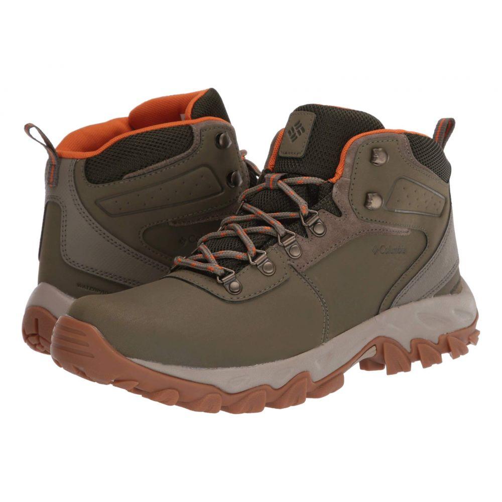 コロンビア Columbia メンズ ハイキング・登山 シューズ・靴【Newton Ridge Plus II Waterproof】Sage/Valencia