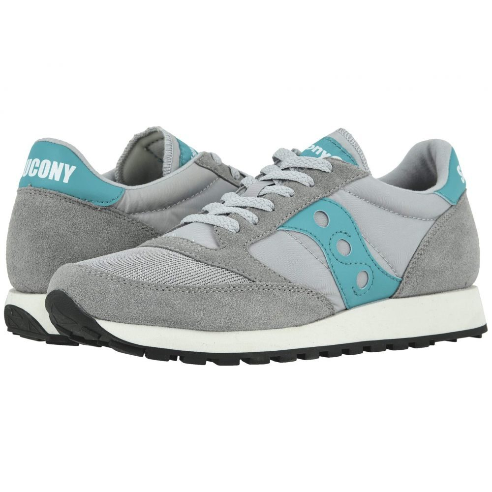 サッカニー Saucony Originals メンズ スニーカー シューズ・靴【Jazz Original Vintage】Grey/Teal