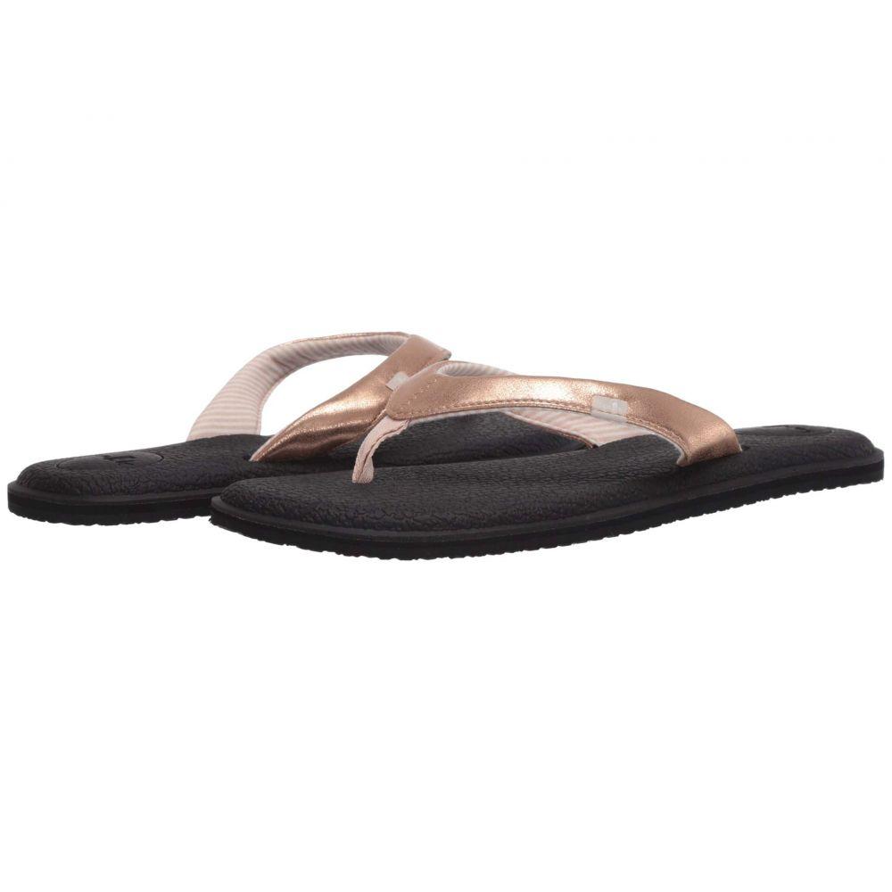 サヌーク Sanuk レディース ビーチサンダル シューズ・靴【Yoga Chakra Metallic】