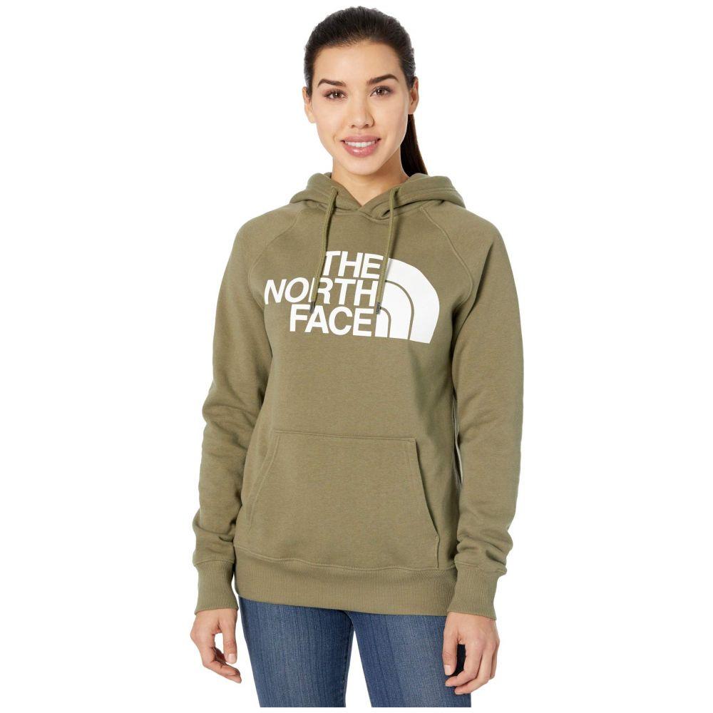 ザ ノースフェイス The North Face レディース パーカー トップス【Half Dome Pullover Hoodie】Burnt Olive Green