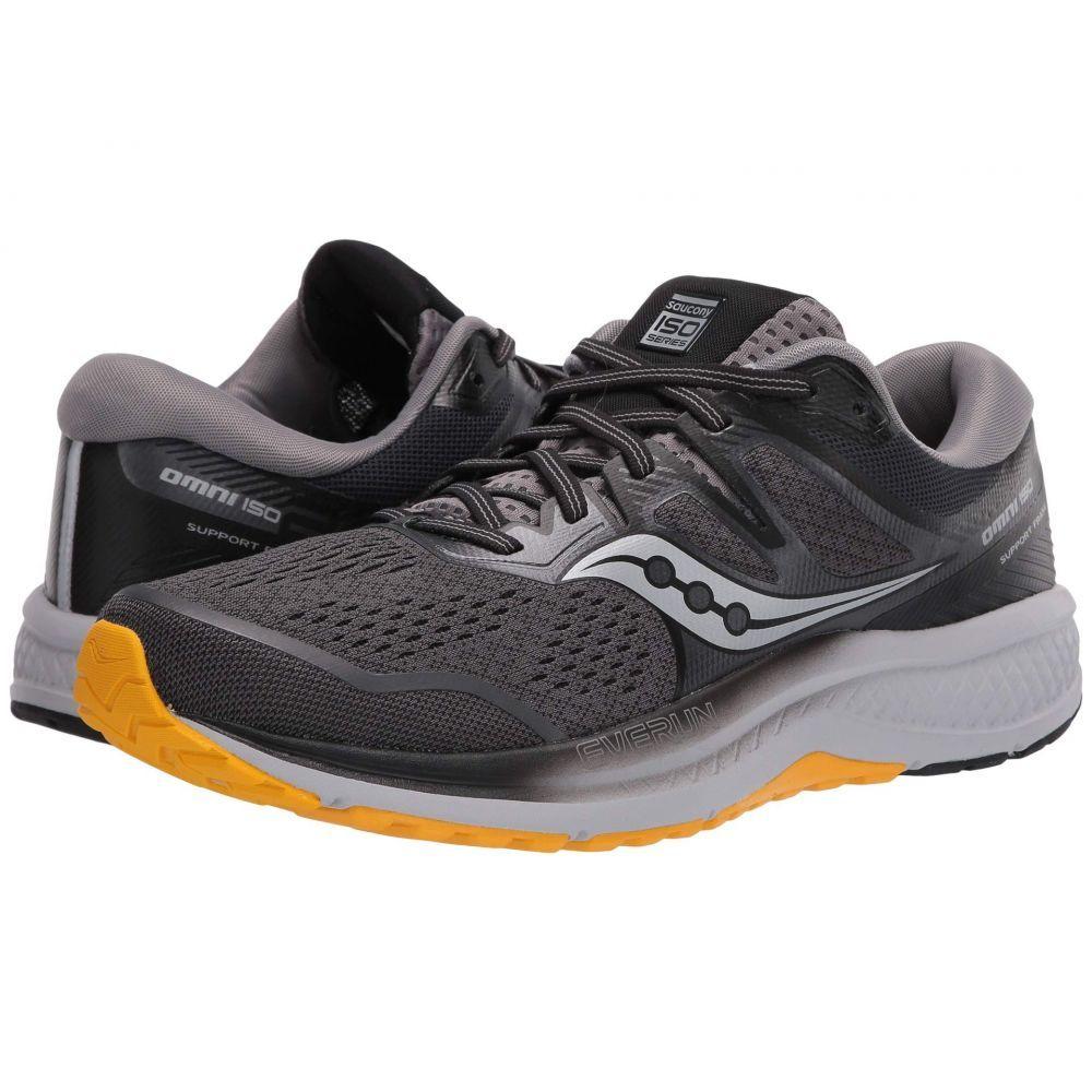 サッカニー Saucony メンズ ランニング・ウォーキング シューズ・靴【Omni ISO 2】Grey/Black/Yellow