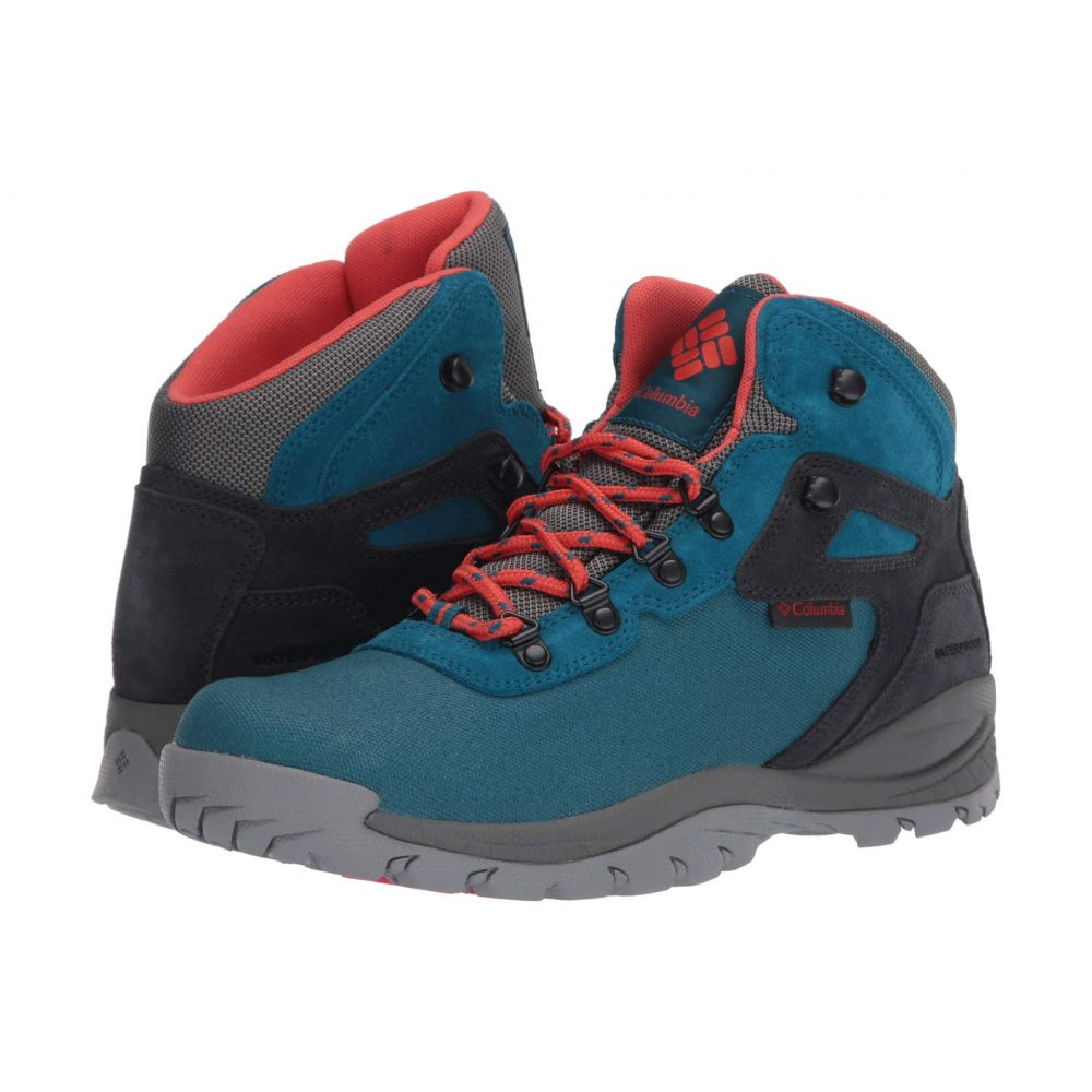 コロンビア Columbia レディース ハイキング・登山 シューズ・靴【Newton Ridge(TM) Canvas Waterproof】Dark Turquoise/Zing