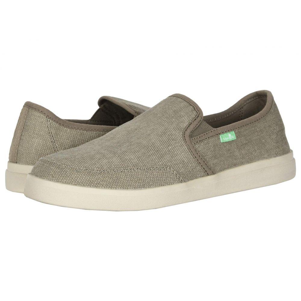 サヌーク Sanuk メンズ スリッポン・フラット スニーカー シューズ・靴【Vagabond Slip-On Sneaker】Brindle