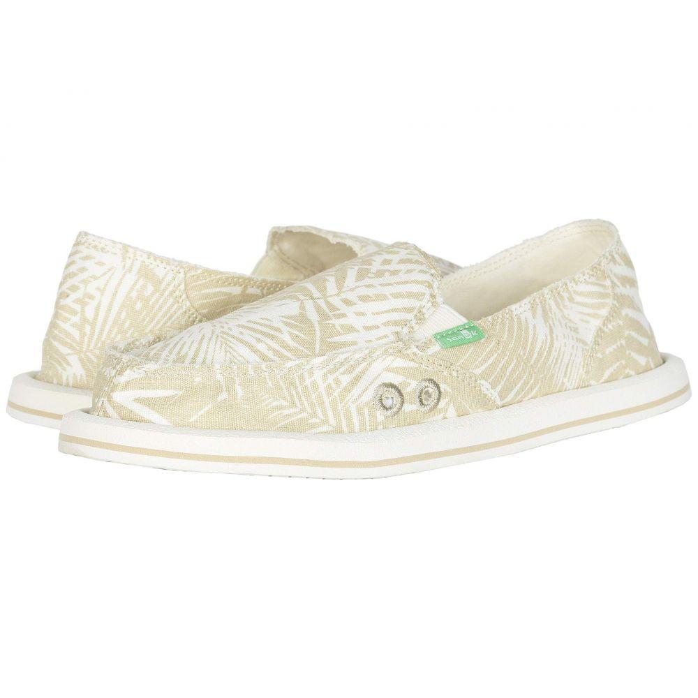 サヌーク Sanuk レディース ローファー・オックスフォード シューズ・靴【Donna Palm】Birch Palm