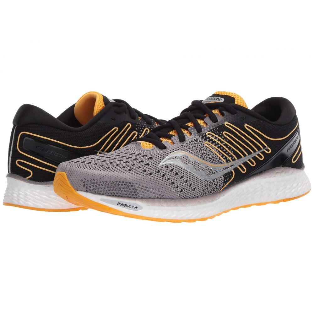 サッカニー Saucony メンズ ランニング・ウォーキング シューズ・靴【Freedom 3】Black/Yellow