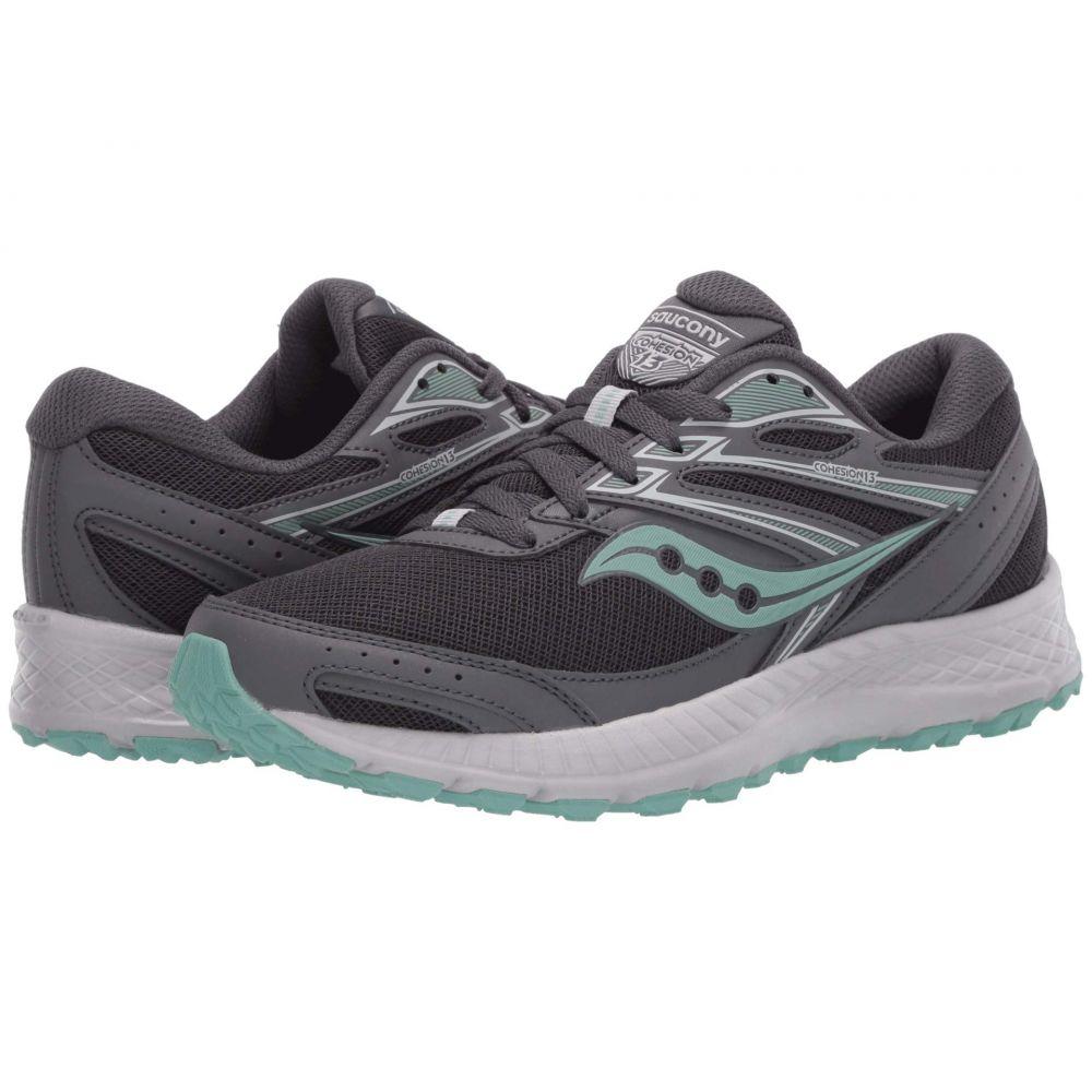 サッカニー Saucony レディース ランニング・ウォーキング シューズ・靴【Versafoam Cohesion TR13】Dark Grey/Mint