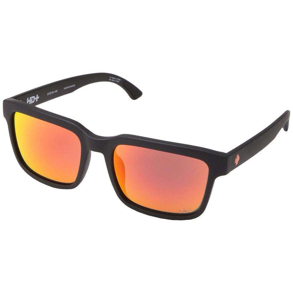 スパイ Spy Optic レディース メガネ・サングラス 【Helm 2】Dale Jr/Matte Black/HD Plus Gray Green/Orange Spectra Mirror