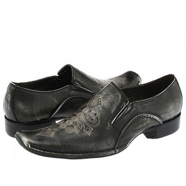 スティーブ マデン Steve Madden メンズ ローファー シューズ・靴【Debinair】Grey Nubuck