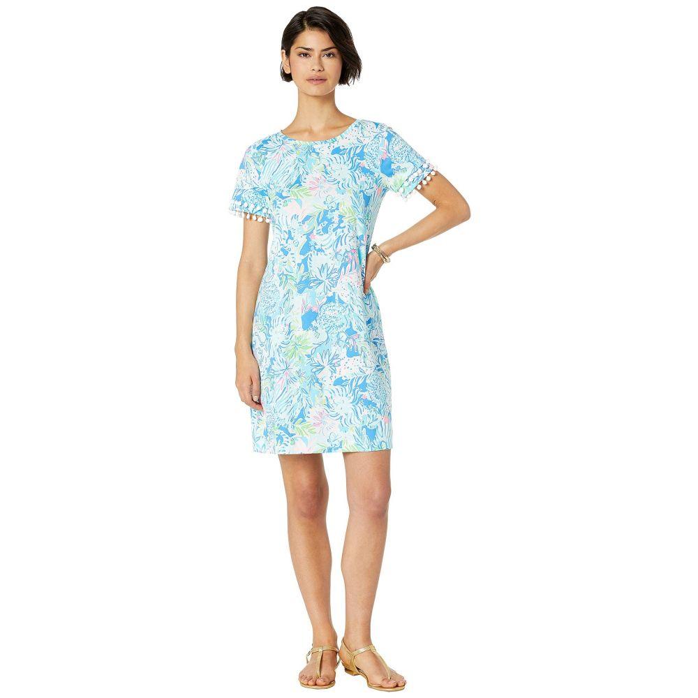 リリーピュリッツァー Lilly Pulitzer レディース ワンピース ワンピース・ドレス【Lissie Dress】Coastal Blue Lion Around