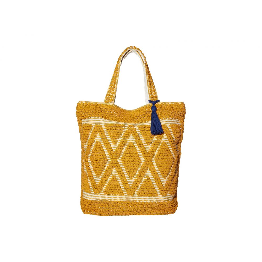サンディエゴハット San Diego Hat Company レディース トートバッグ バッグ【BSB3545 Dharie Shopper Bag - Large】Mustard